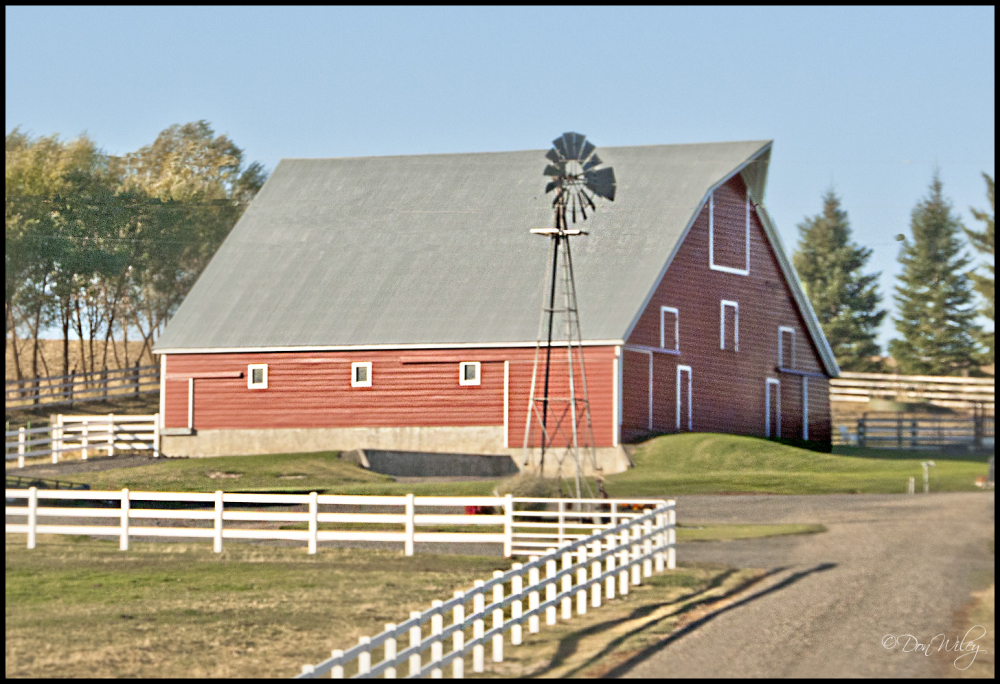 White Fence Barn