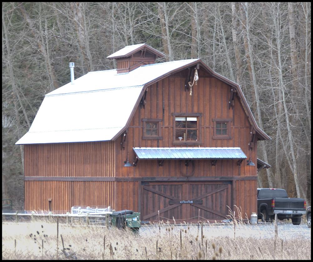 Barn styled house
