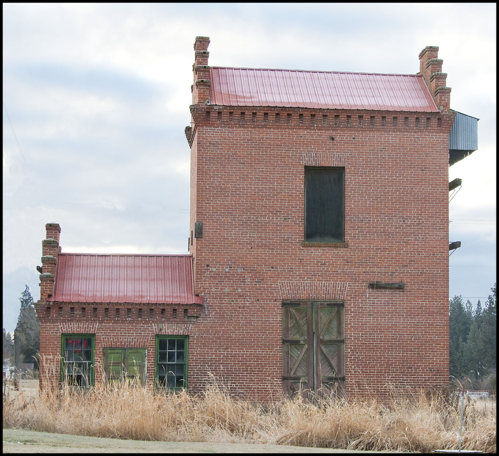 Side View of the Pump House