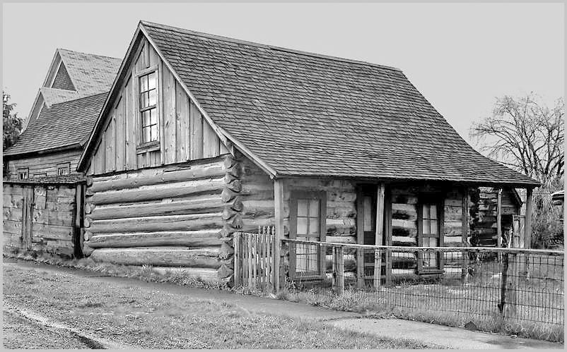 Ft. Steele Log Cabin