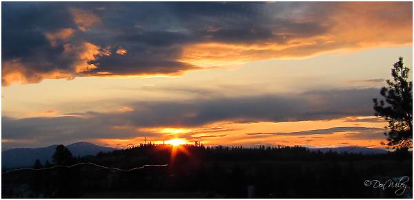Sunrise last week