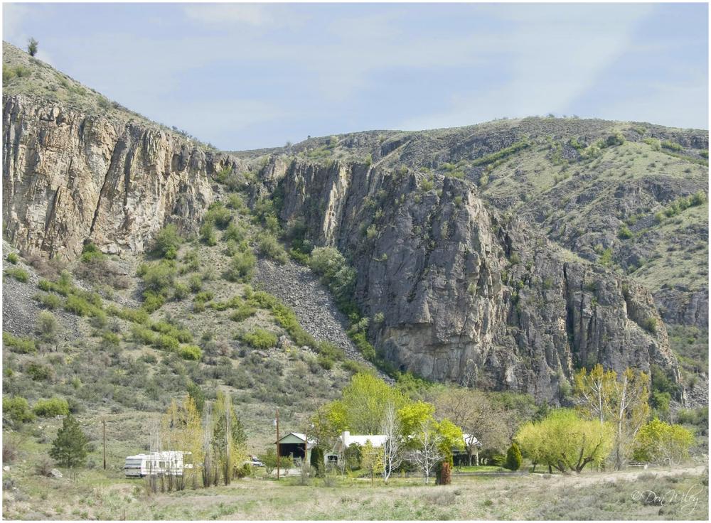 Basalt Cliff View