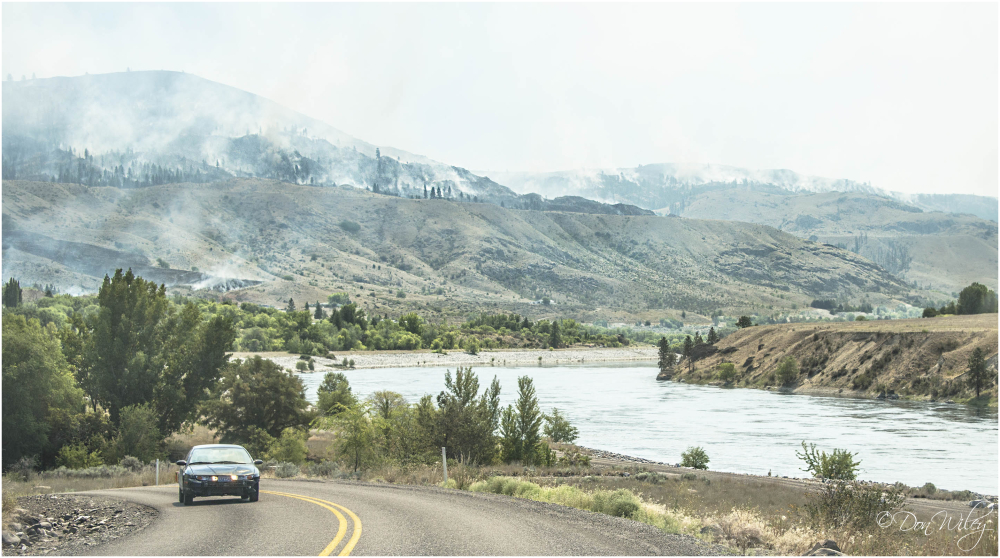 Grand Coulee Brush Fire