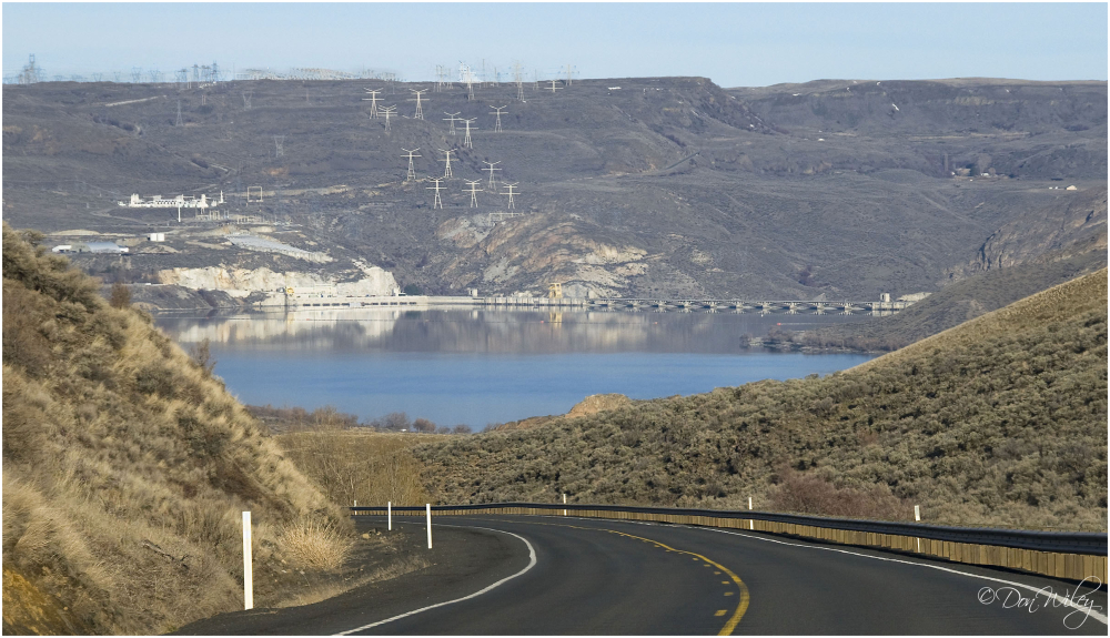 Grand Coulee Dam Reservoir