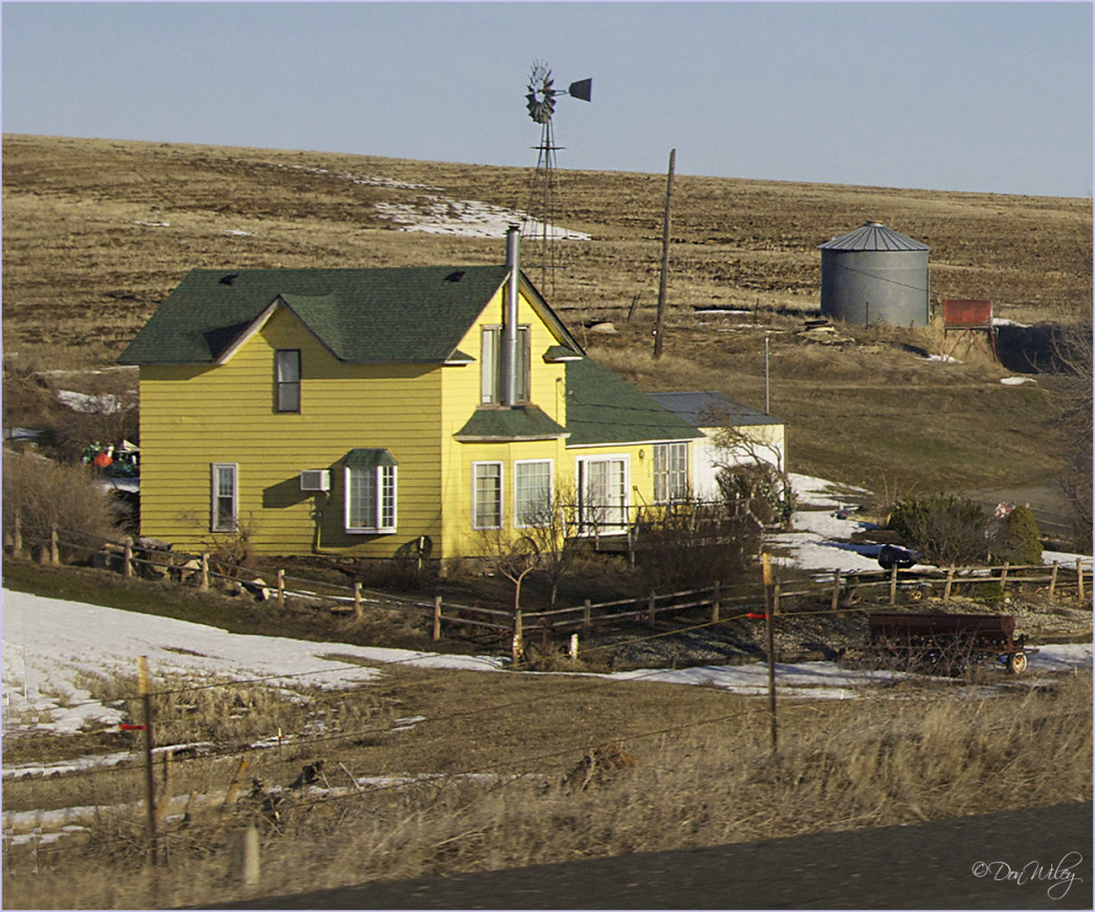 Yellow Farm Home