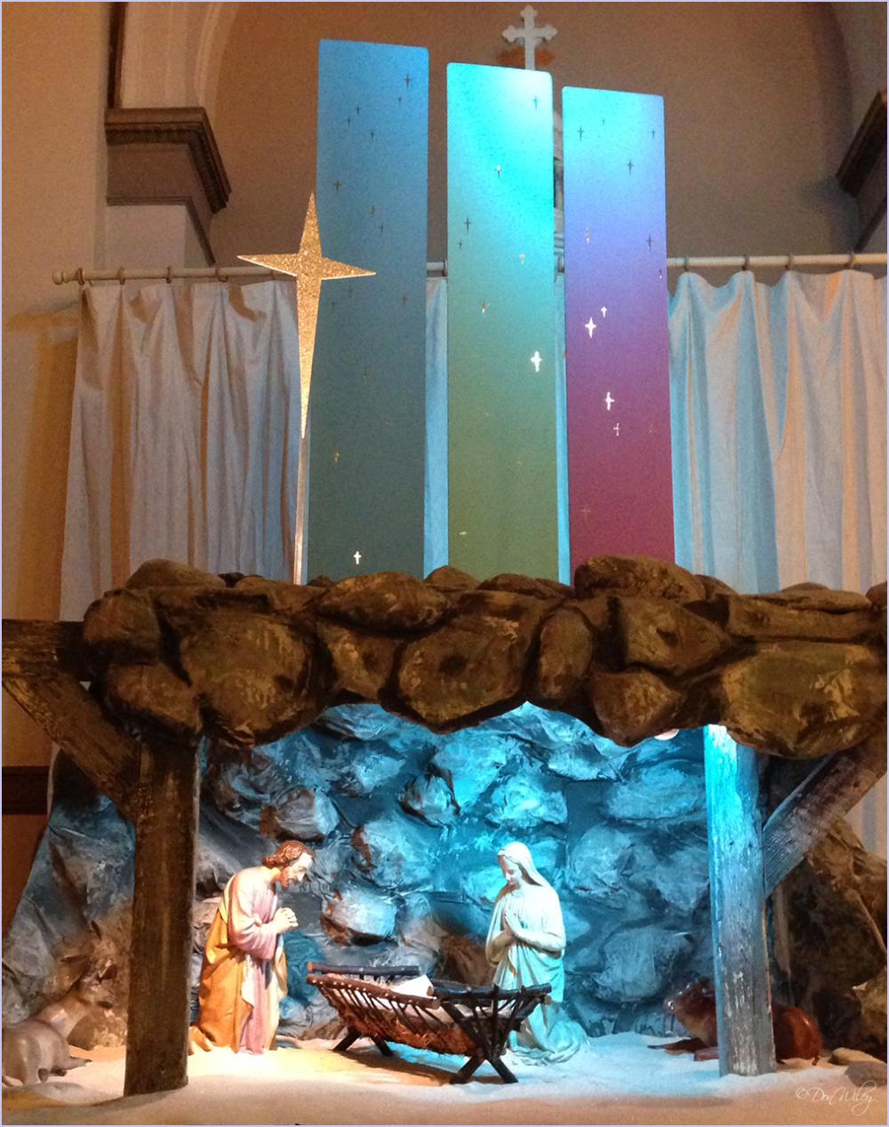 St. Aloysius Nativity Scene