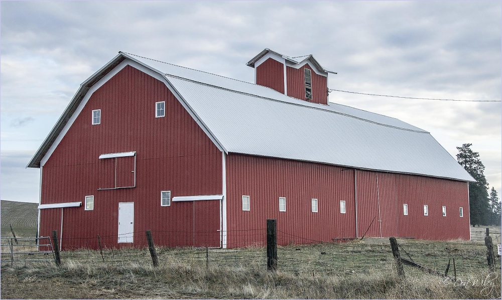 Second View of a Large Barn