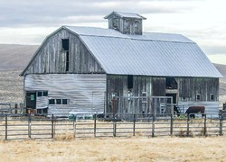 Tin Patched Barn
