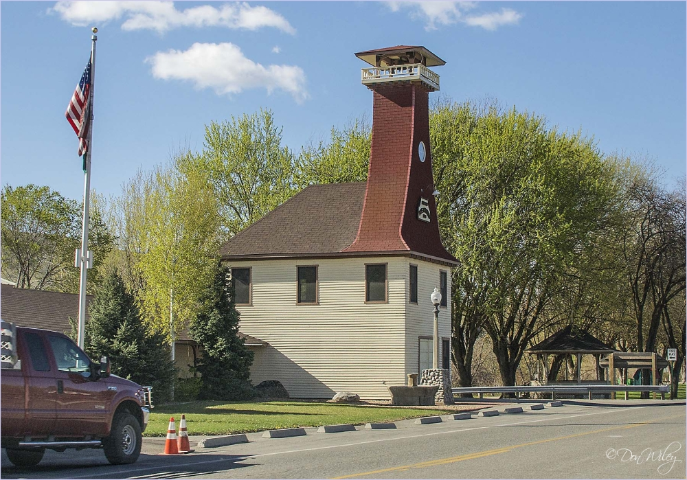 Clock Tower Omak