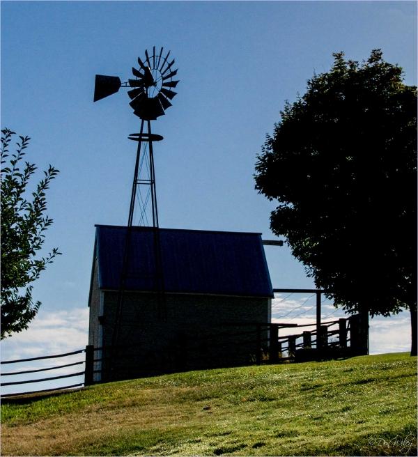 Windmill Scene