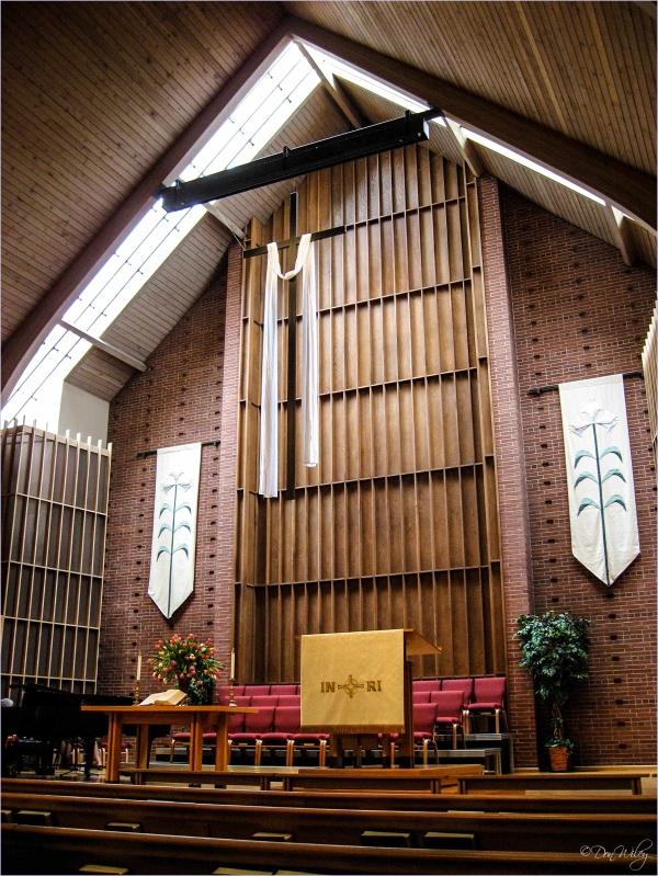 Choir Loft and Pulpit