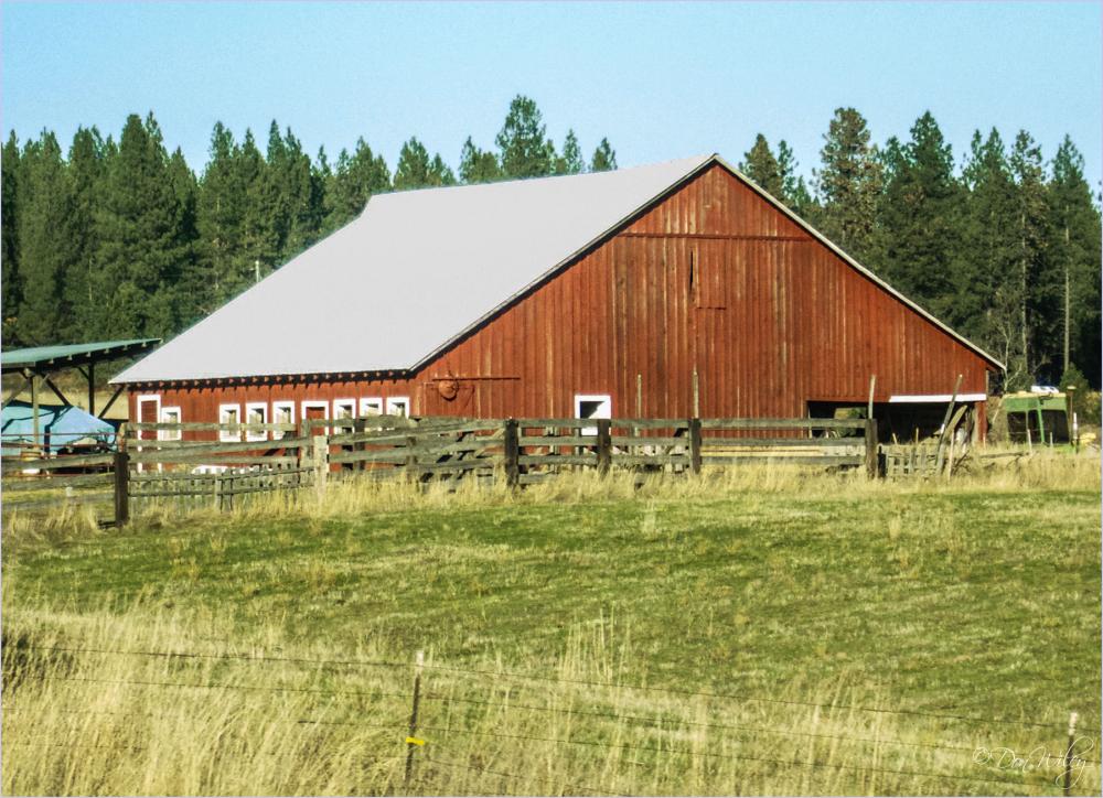 Small Windows Barn