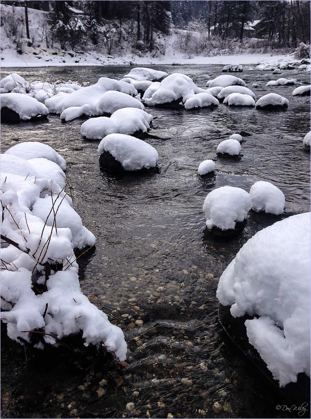 Wenatchee River In Leavenworth
