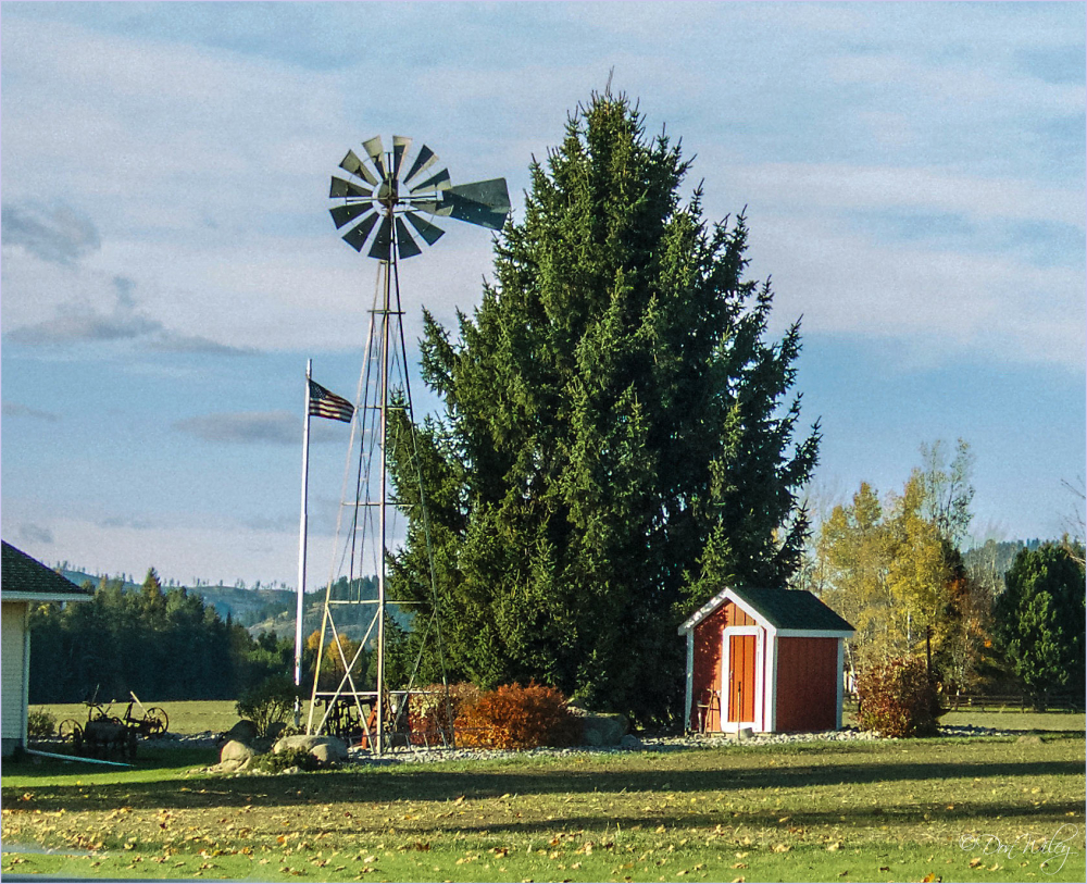 Windmill and Pump House