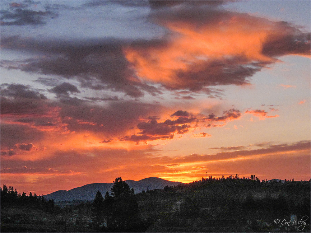 Another Sunrise Over Mt. Spokane