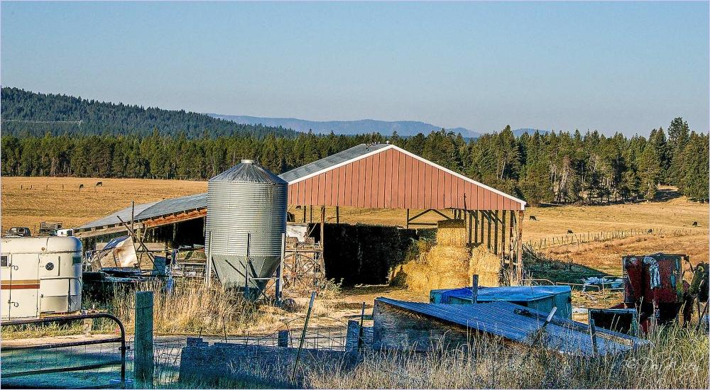 Livestock Hay Storage