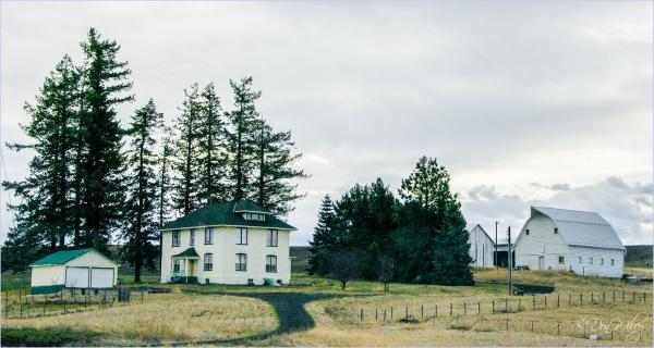 Large Farm Home