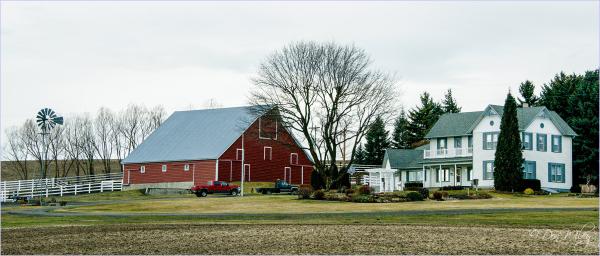 A Large Barn
