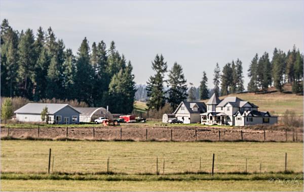 An Unusual Farm Home