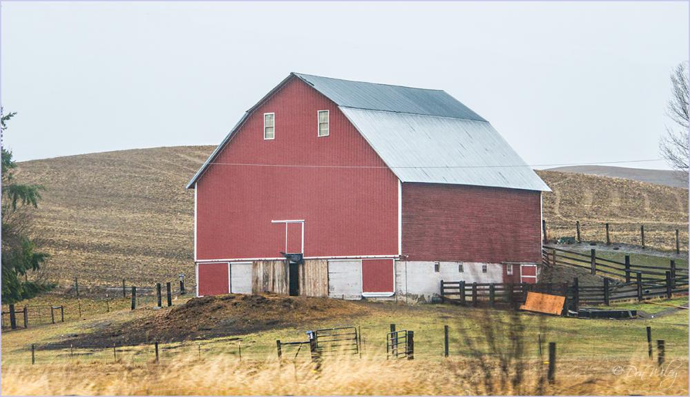 A Barn Featuring  - Manure?