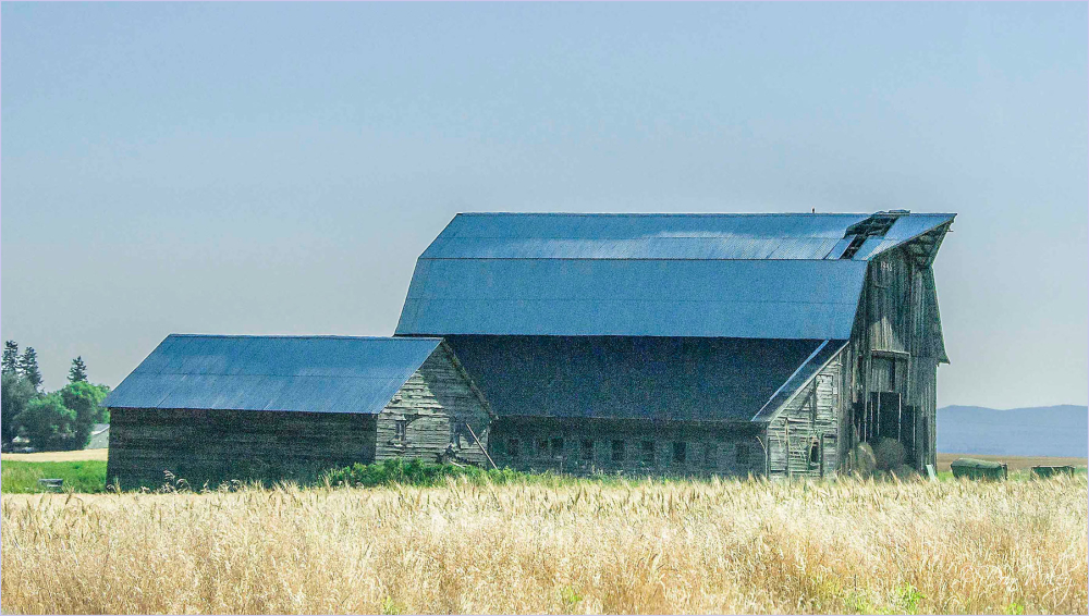 Broken Roof Barn