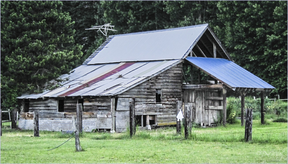 Icicle River Barn