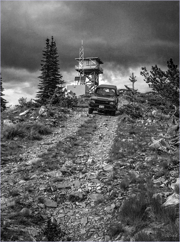 Down From the Fire Lookout