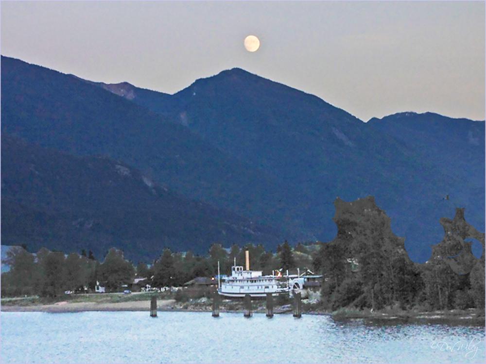 Across Kaslo Lake, BC