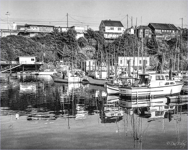 Boat Basin at Depoe Bay Oregon