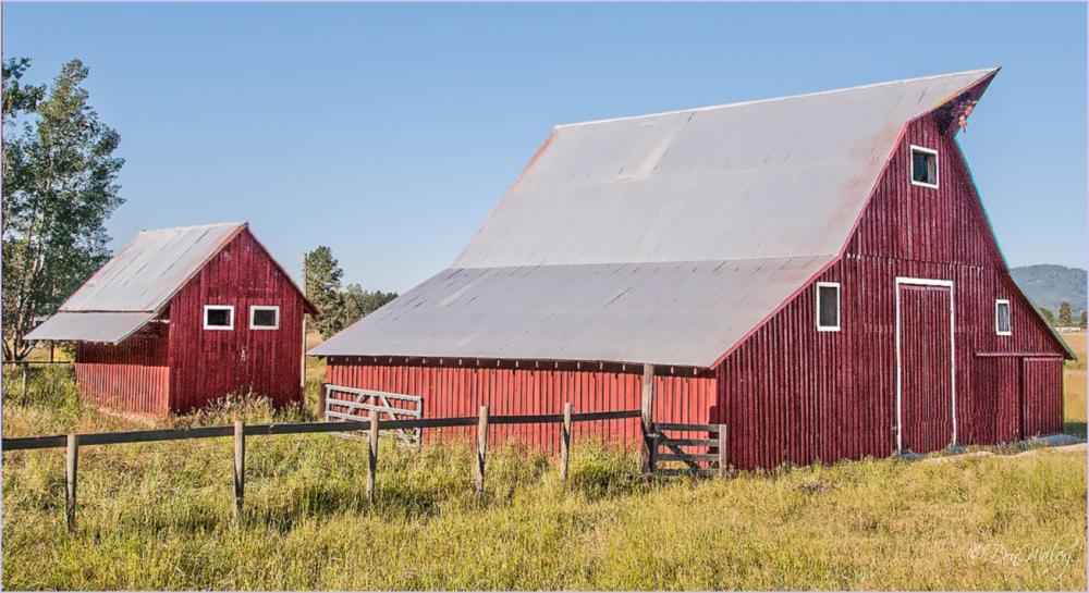 Little and Big Barns