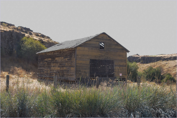Shed in the Desert