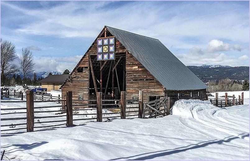 Barn and Art Work
