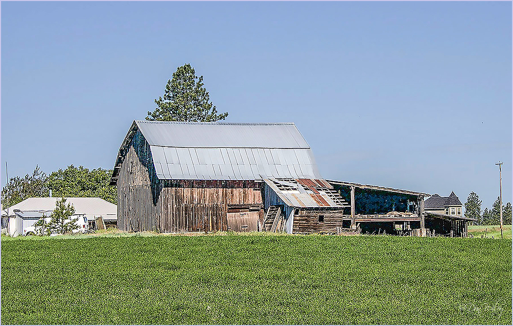 Lean To Barn
