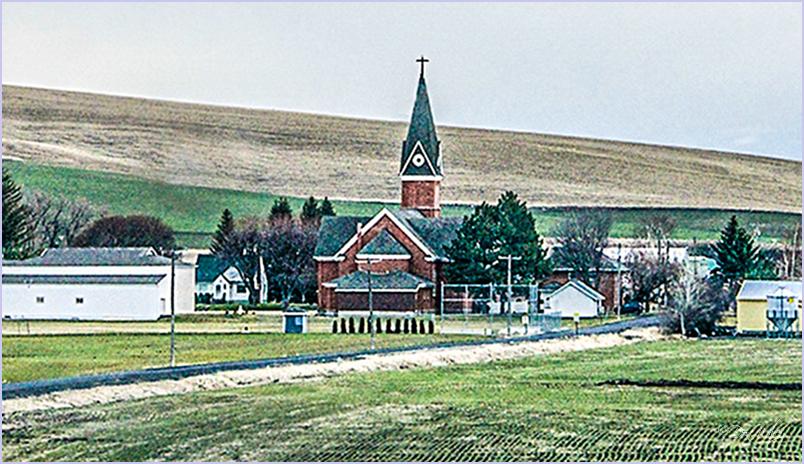 A Local Town's Church