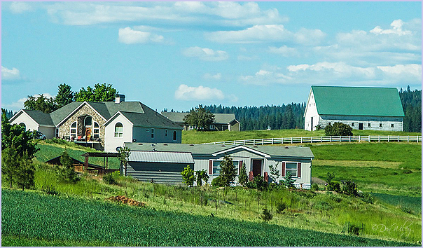 Farm Homes Are Closer together