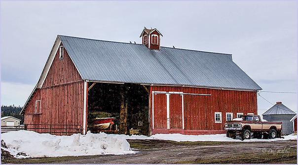 Boat Garage and Barn