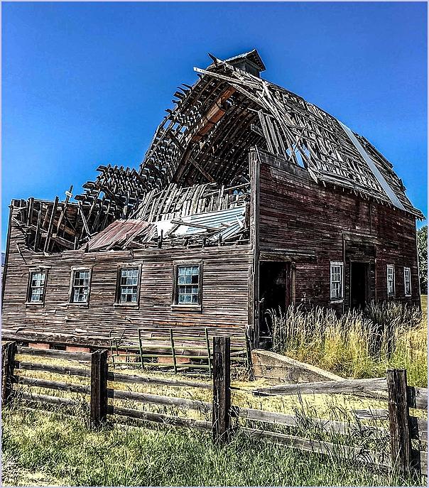 No Longer A  Barn-like House