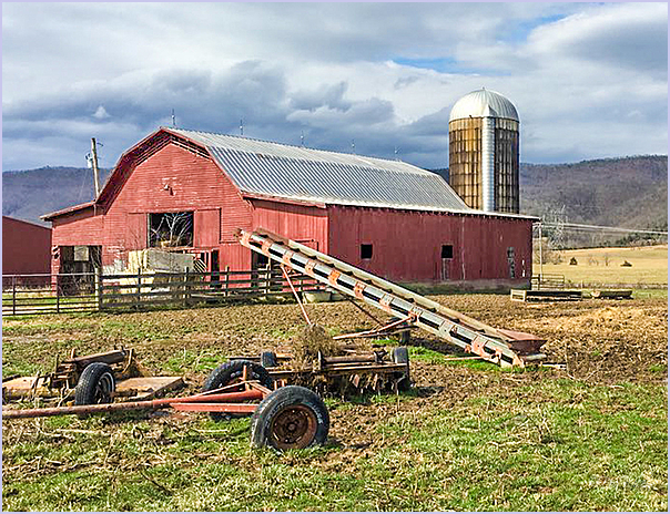 Barn and Equipment