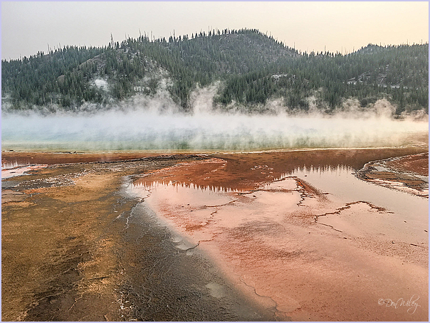 Hot Color In Yellowstone