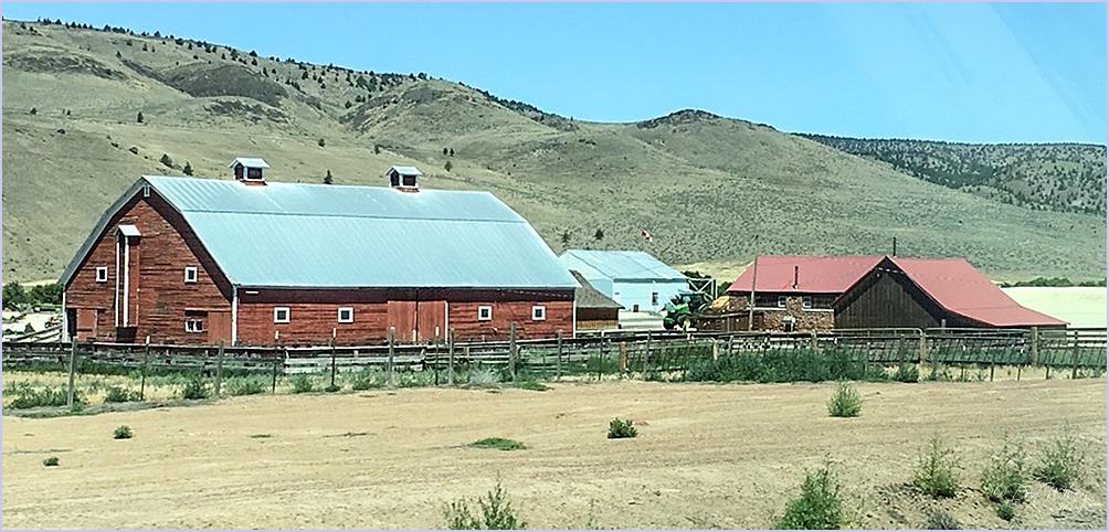 Barn And Setting