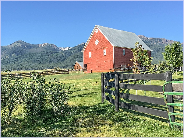 Barn With Fences