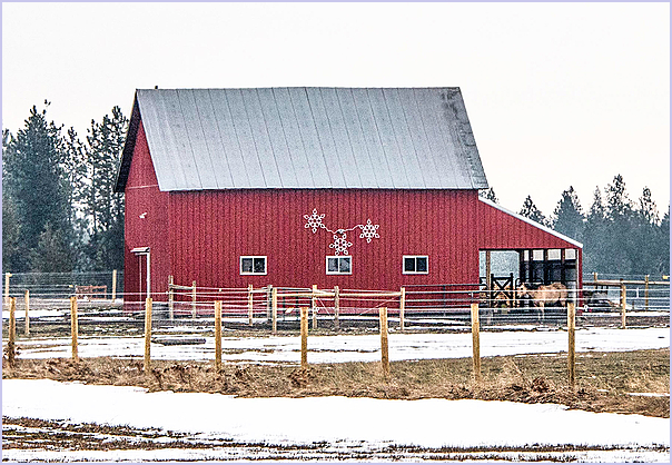 Cheney Road Barn