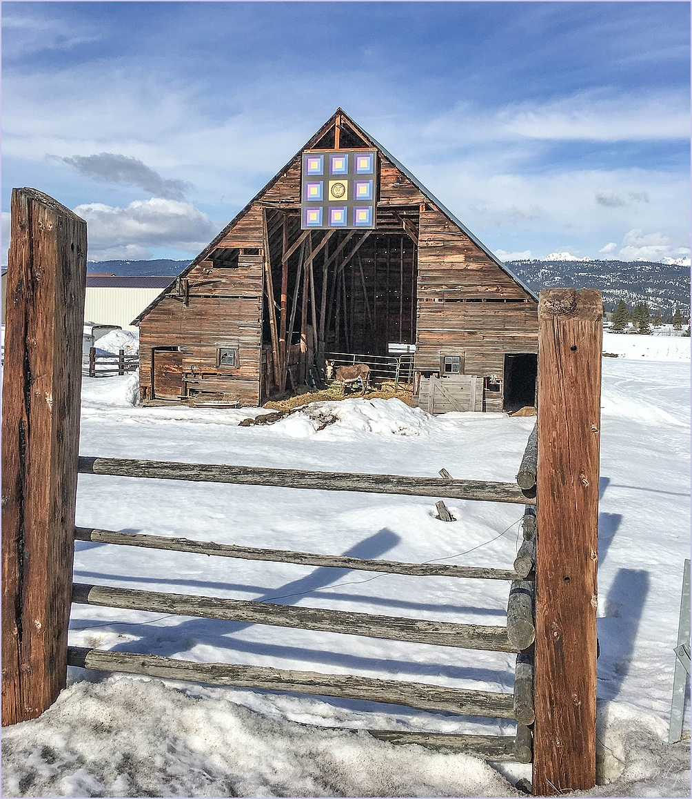 Barn With Art Work