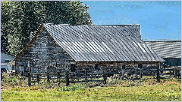 Metal Roofed Barn