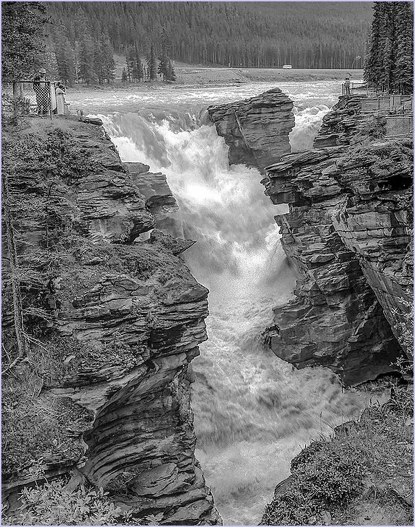 Athabasca Falls, BC, Canada