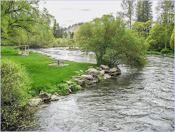 Flooded Little Spokane