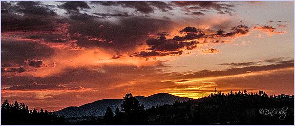 Sunrise With Mt. Spokane