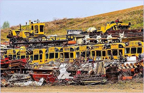 School Bus Graveyard