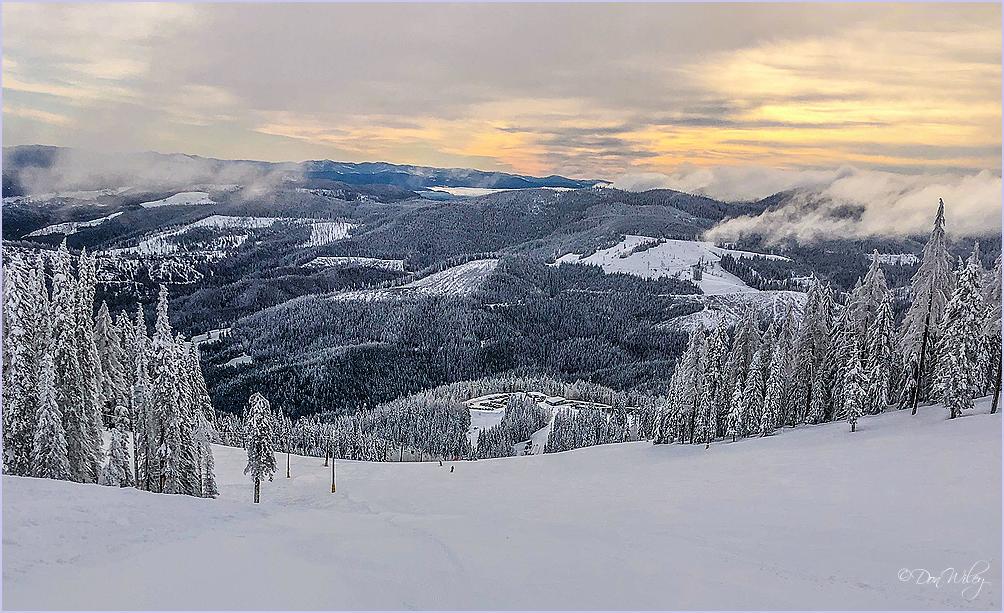Mountainous Valley