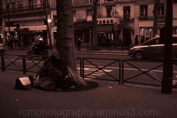 The Homeless Man